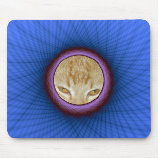 Mousepad  Blue and Purple Window Frame