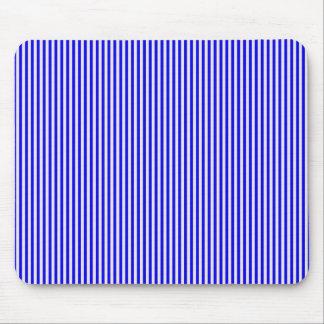Mousepad - Blue & Buttermilk Cream stripes