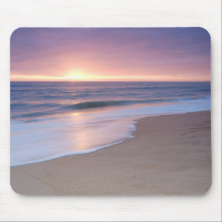 MousePad: Calm Beach Waves Mouse Mat