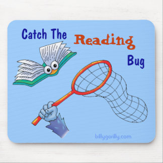 Mousepad_Catch The Reading Bug Mouse Mat