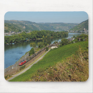 Mousepad central Rhine Valley with Lorch