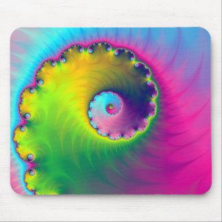 Mousepad  Color Wash Spiral