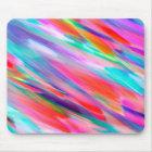 Mousepad Colourful digital art splashing