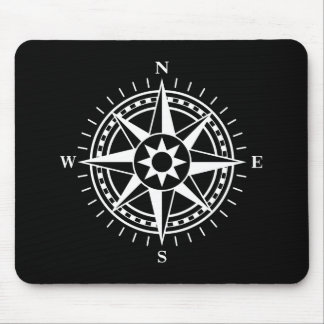 Mousepad: Compass rose Mouse Mat
