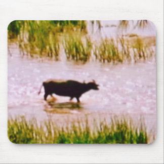 MOUSEPAD - COW IN A PLANTATION