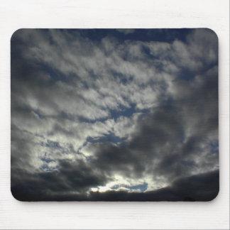Mousepad: Dark Clouds Cover Sun