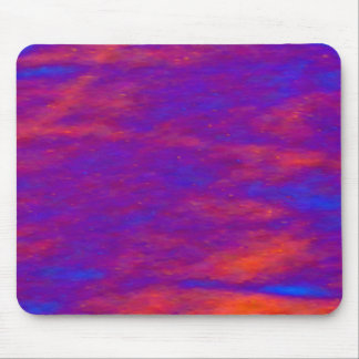 Mousepad - Dark Red and Blue Storm Clouds