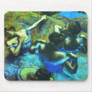 Mousepad: Degas Ballet Dancer Girly Fine Art Mouse Pad