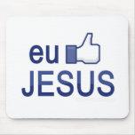 Mousepad - Eu curto Jesus
