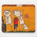 Mousepad: Family in Concrete
