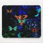 Mousepad Fantasy Art Butterfly Girl