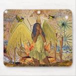 Mousepad Fantasy Art Golden Angel 2