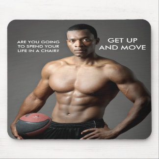 MOUSEPAD: Get up and Move Mouse Pad