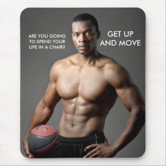 MOUSEPAD Get up and Move