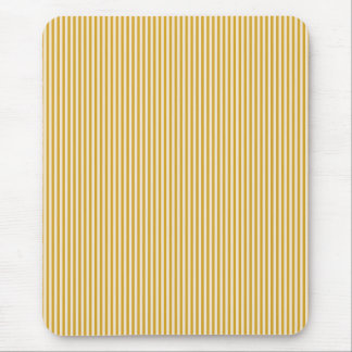 Mousepad - Goldenrod & Buttermilk Cream stripes