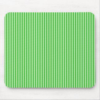 Mousepad - Green & Buttermilk Cream stripes