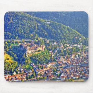 Mousepad Heidelberg Castle Aerial View