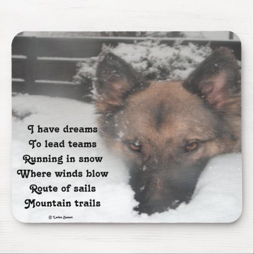 Mousepad I Have Dreams Poem By Ladee Basset
