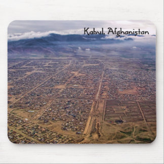 Mousepad:  Kabul from above Mouse Mat