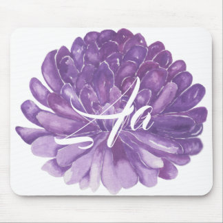 "Mousepad ""Lavender Flower/Watercolor Sketch"""
