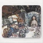Mousepad: Mad Hatter Tea Party - Rackham