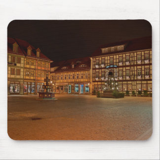 Mousepad market place who Niger ode at night