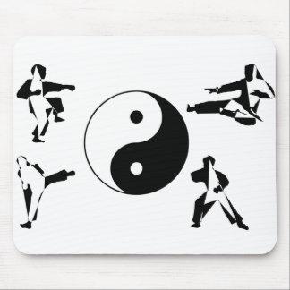 Mousepad martial arts karate ying yang