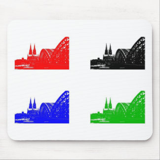 Mousepad mouse PAD Cologne cathedral