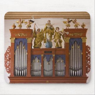 Mousepad of pipe organ in Ingelheim
