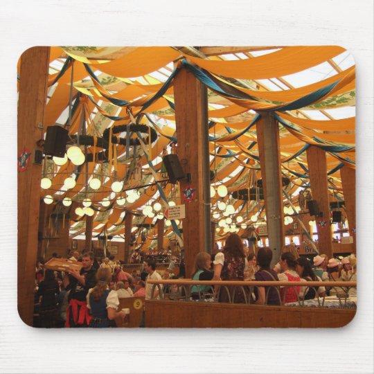 Mousepad: Oktoberfest Tent Munich Germany Mouse Mat