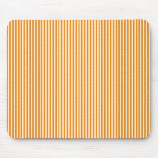 Mousepad - Orange & Buttermilk Cream stripes