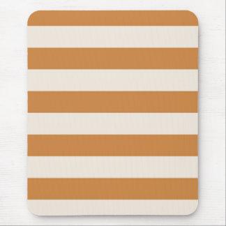 Mousepad - Peru Brown & Buttermilk Cream - stripes