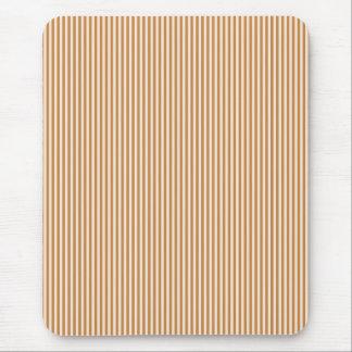 Mousepad - Peru Brown & Buttermilk Cream stripes