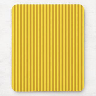 Mousepad - Peru Brown & Yellow narrow stripes