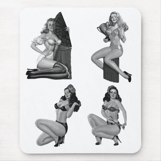 Mousepad Pin up Girls Vintage (21-32-20-29)