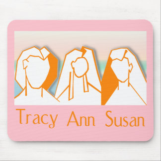 Mousepad(pink): GIT - The Wonderous Women of Wit Mouse Pad