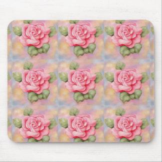 Mousepad Pink Roses