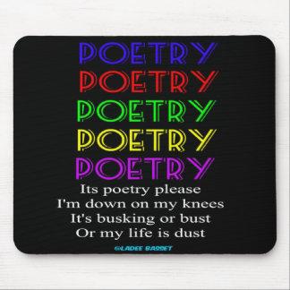 Mousepad Poetry Please Poem