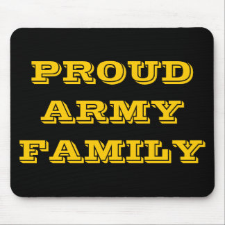 Mousepad Proud Army Family