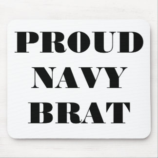 Mousepad Proud Navy Brat