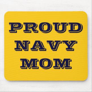 Mousepad Proud Navy Mom