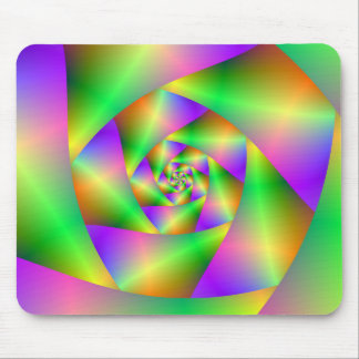 Mousepad  Psychedelic Spiral