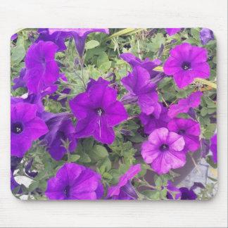 Mousepad - Purple Flowers - You Customise It!