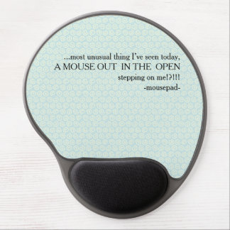 mousepad rant! gel mouse pad