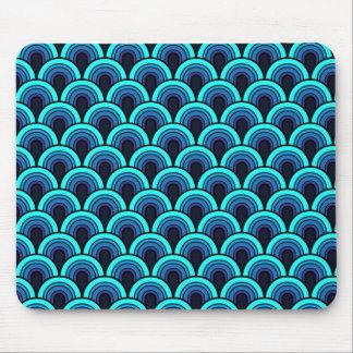 Mousepad Seamless retro pattern