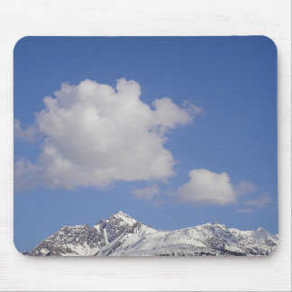 Mousepad snow mountain with merry cloud