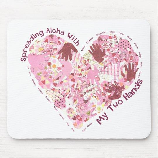Mousepad: Spreading Aloha Mouse Mat