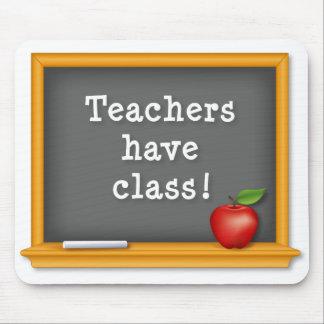 Mousepad Teachers have class Blackboard Apple