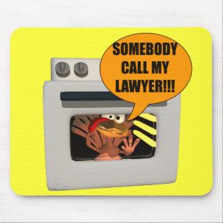 Mousepad - Thanksgiving Turkey Lawyer