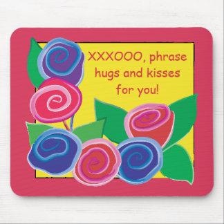 """Mousepad """"Toon/Hugs and Kisses"""""""